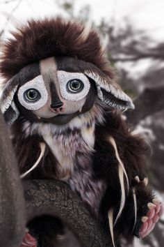 Woogie  The Forest Creature by WildSpiritShop on Etsy, $280.00
