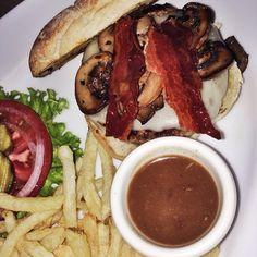 Mushroom burger @ Agadón Bar Burgen