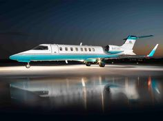 The first Learjet prototype was tested in 1963.