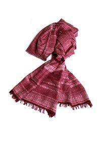 Semi Pashmina abrash Shawl,The Carpet Cellar,Pashmina Angora Shawl - Burgundy