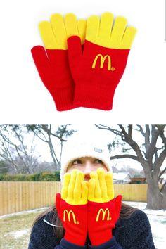McDonald's Fries Mittens