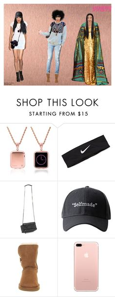 """""""My Style; Seventeen mag shoot"""" by purple-queen-101 ❤ liked on Polyvore featuring NIKE, Givenchy and UGG Australia"""