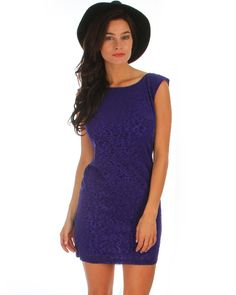 Purple Leopard Print Burnout Mod Dress