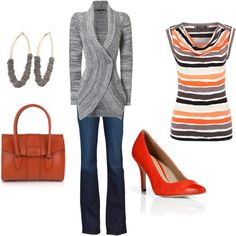Orange..so cute and it's my favorite color