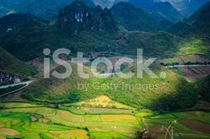 Fairy bosom is located in Quan Ba District, Ha Giang royalty-free stock photo