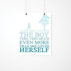 Hey, I found this really awesome Etsy listing at https://www.etsy.com/listing/121188888/nursery-decor-the-giving-tree-she-loved