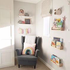 rainbow nursery deco