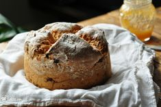 gluten free irish soda bread wide