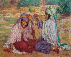 Thé au Jasmin: Jeux d'enfants, Etienne Dinet