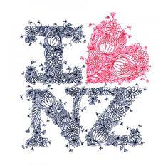 Cloud Nine Creative artwork, I love New Zealand! Zentangle, Waitangi Day, Long White Cloud, New Zealand Houses, Maori Designs, Kiwiana, All Things New, Online Gift Shop, The Beautiful Country