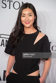 Model Liu Wen attends the 2016 amfAR New York Gala at Cipriani Wall Street on February 10, 2016 in New York City.