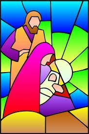 pesebre tipo vitral en fieltro - Buscar con Google Stained Glass Quilt, Faux Stained Glass, Stained Glass Projects, Stained Glass Patterns, Christmas Rock, Christmas Nativity, Christmas Projects, Stained Glass Christmas, Church Banners