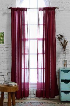 Chloe Gauze Curtain - Urban Outfitters