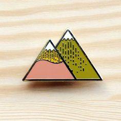 broche Summer mountain