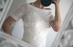 Пуловер широкими косами из тонкого мохера | Вязание для женщин | Вязание спицами и крючком. Схемы вязания.