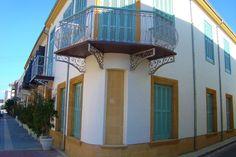 Old traditional aristocratic building in Nicosia