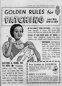 Sew-and-Sew . Sewing Hacks, Sewing Ideas, Sewing Projects, Projects To Try, Land Girls, Make Do And Mend, 1940s Fashion, Refashion, World War Ii