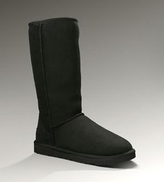 UGG Classic Tall 5815 Black For Sale In UGG Outlet Save more than $100, Free Shipping, Free Tax, Door to door delivery