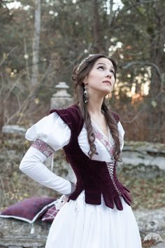 Found Princess period renaissance bodice :: by medieval store ArmStreet Medieval Dress, Medieval Clothing, Historical Clothing, Fantasy Costumes, Costume Design, Corset, Bodice, Dress Up, Wedding Dresses