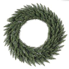 The Vickerman 144 in. Camden Fir Wreath is a regal Christmas crown sure to brighten any home with holiday cheer. This large lush wreath embodies the. Tulip Wreath, Berry Wreath, Green Wreath, Artificial Christmas Wreaths, Holiday Wreaths, Outdoor Wreaths, Christmas Store, Christmas Room, Christmas Quotes