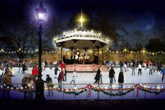 Get your skates on at the best ice rinks in Britain: Hyde Park Winter Wonderland, London