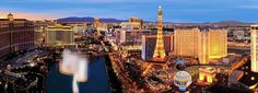 TOP 10 must-see magnificent streets LAS VEGAS STRIP, NEVADA, US