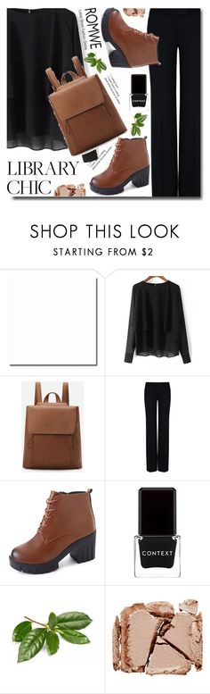 """""""Finals Season"""" by soks ❤ liked on Polyvore featuring STELLA McCARTNEY, Context, Surratt and vintage"""