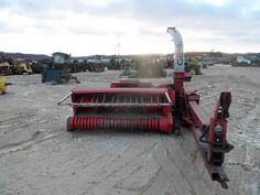 Gehl 1065 harvester salvaged for used parts. This unit is available at All States Ag Parts in Downing, WI. Call 877-530-1010 parts. Unit ID#: EQ-25412. The photo depicts the equipment in the condition it arrived at our salvage yard. Parts shown may or may not still be available. http://www.TractorPartsASAP.com