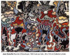 Jean Dubuffet - Rue de l'Entourloupe - 1963