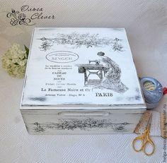 Idea para caja costura