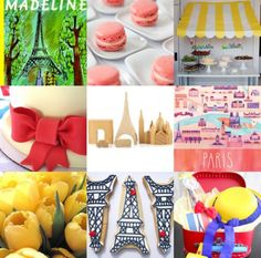 Madeline party ideas- amazing I want this for MY party.