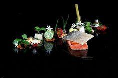 Par quoi commencer ? Tout a l'air si beau et si délicieux  !... ;) (Sous Chef Arne Anker im Hotel Palace in Berlin)