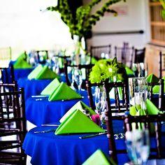 140 best Wedding - Lime Green & Royal Blue images on Pinterest ...