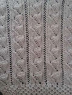 Bech Five - Knitting Examples Knitting Stiches, Crochet Stitches Patterns, Knitting Videos, Crochet Videos, Lace Knitting, Knitting Patterns Free, Free Pattern, Knit Crochet, Knitting Needles