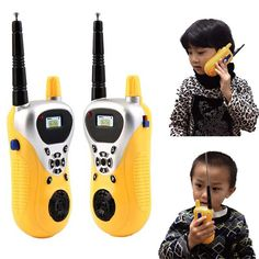 Intercom Electronic Walkie Talkie Kids Child Mni Toys Portable Two-Way Radio Children Toy Walkie Talkies Radios, Toddler Toys, Kids Toys, Talkie Walkie, Two Way Radio, Activity Toys, Outdoor Games, Indoor Outdoor, Electronic Toys