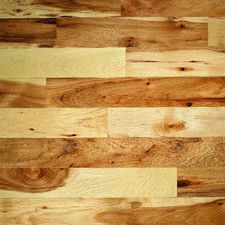 """Monroe Hickory 2-1/4"""" Solid Hickory Flooring in Natural"""
