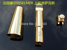 60.00$  Buy here - http://alilae.worldwells.pw/go.php?t=32710355778 - France Selmer E Flat Baritone Saxophone Mouthpiece Alto Gold surface Instrument Sax Mouthpiece Musical Instruments Accessories 60.00$