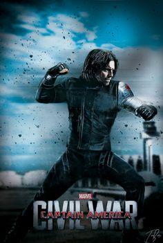 Winter Soldier - Civil War - Universo Marvel