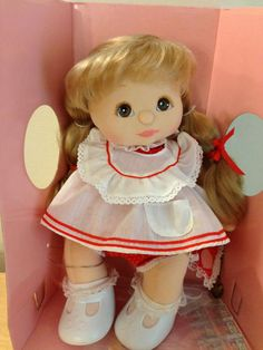 I had one of these with shorter hair. Loved this doll! My Childhood Doll