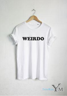 WEIRDO shirt OOTD T-shirt Fashion Hipster tshirt by YomaWear