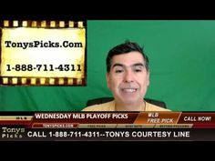 MLB Picks Predictions Betting Odds Preview Wednesday 10-19-2016