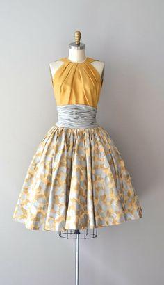50's style halter dress