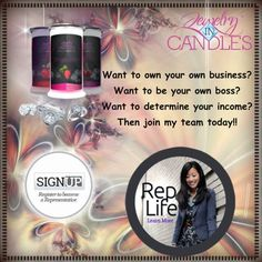 Become a Jewelry in Candles rep, like me! You can join right now for the unbelievably low cost of $9.95! And there are no additional monthly fees!!! Join my team now and make your dreams come true at https://jewelryincandles.com/store/jenniferskelton or email me at jcobbskelton@gmail.com!