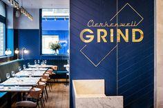 Clerkenwell Grind restaurant and bar by Biasol, London – UK