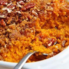 Ruths Chris Sweet Potato Casserole @keyingredient #casserole