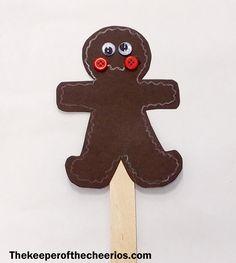 Hot Cocoa Gingerbread Man Craft