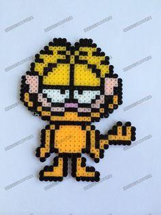 Garfield mini perler beads