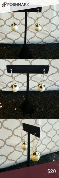 White House Black Market earrings These classically beautiful earrings are very elegant and a must have for any closet. They are hypoallergenic and were worn twice. White House Black Market Jewelry Earrings