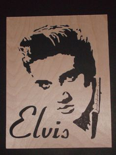 Scroll Saw Woodwork - Elvis on Etsy, $76.92