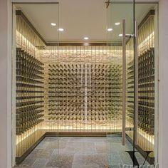 Spaces Modern Wine Cellar Design
